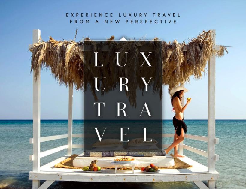 Cover of Luxury Travel Magazine