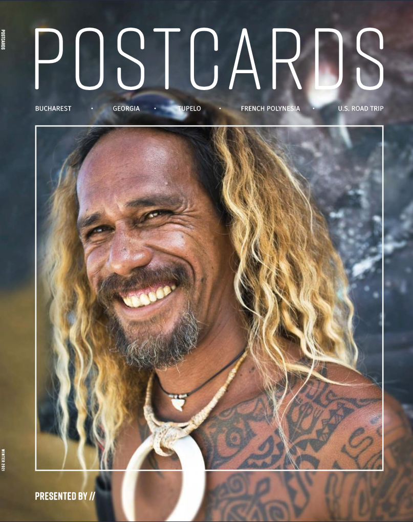 Cover of Postcards Magazine
